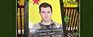 YPG savaşçısı Scurfield anıldı