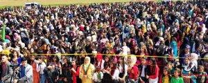 Qamişlo'da 8 Mart kutlanıyor