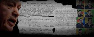 Öldürülen esirlerin son mektupları