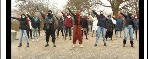 """İranlı kadınlardan """"Las Tesis"""" dansı"""