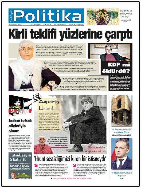Son Gazete Manşeti
