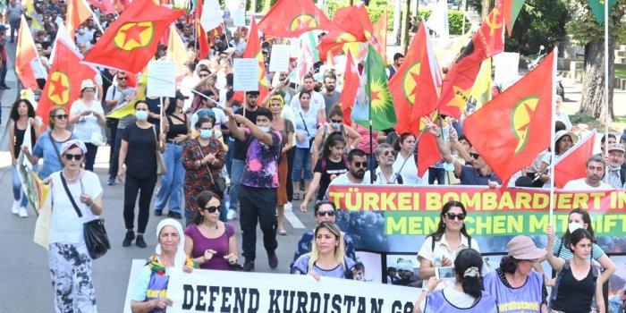 Zürih'te işgal saldırıları protesto edildi