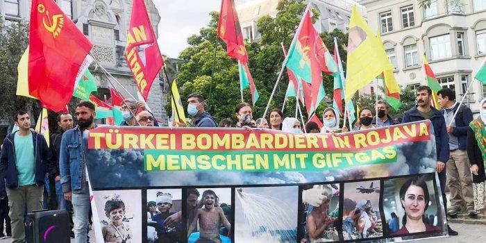 Türk devlet saldırıları Zürih'te protesto edildi