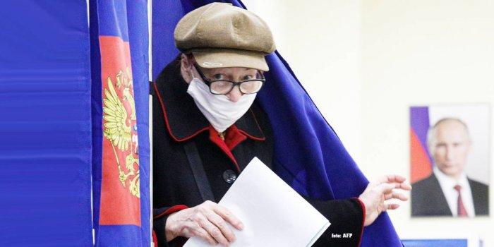 Rusya'da seçimler tamamlandı/foto: AFP