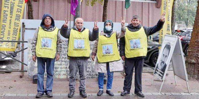 Nöbet eylemi Darmstadt grubunda