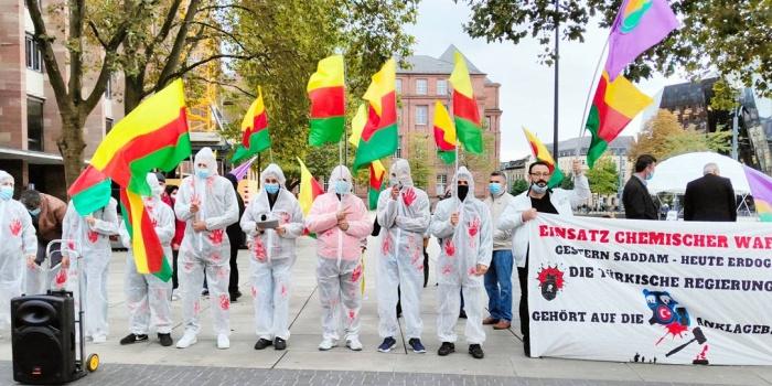 Türk devletinin kimyasal gaz kullanımı Münih'te kınandı