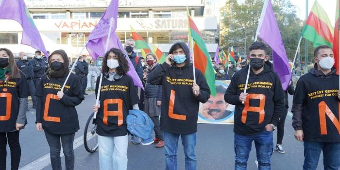 9 Ekim komplosu Berlin'de düzenlenen eylemle kınandı/foto: Muhammed Kaya