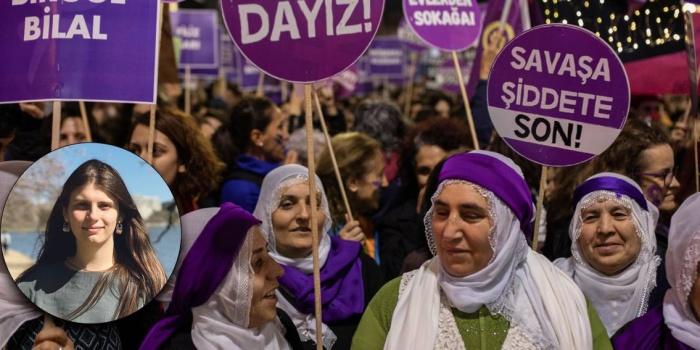 Kürt kadınlar 8 Mart kutlamalarında
